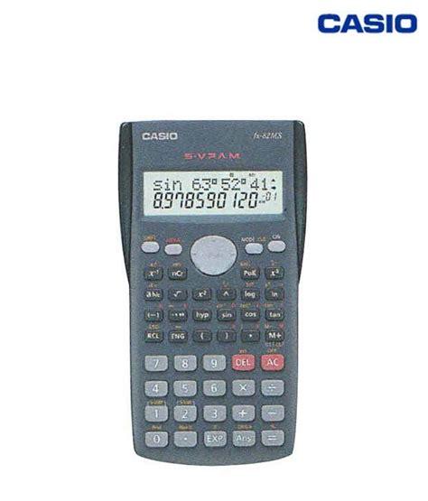 Calculator Scientific Casio Fx 82ms buy casio scientific calculator fx 82ms on snapdeal
