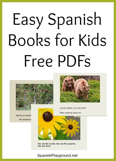 free spanish books for kids easy spanish books pdf for kids spanish playground