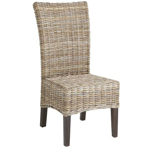 Wicker Kitchen Furniture Kitchen Chairs Second Kitchen Chairs