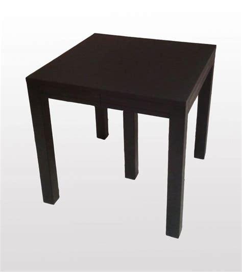 tavolo quadrato allungabile finitura weng 232 idfdesign
