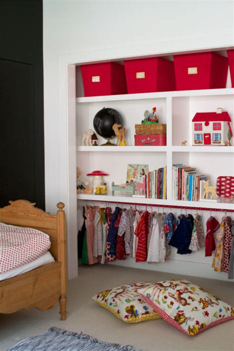 creating a closet in a room without one 23 brilliant storage solutions for kids rooms without a