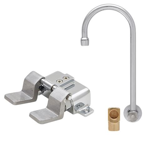 fisher 23078 backsplash mounted faucet with 12 quot rigid