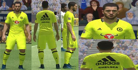 chelsea kit pes 2017 pes 2016 new chelsea training kit by yastrin pes patch