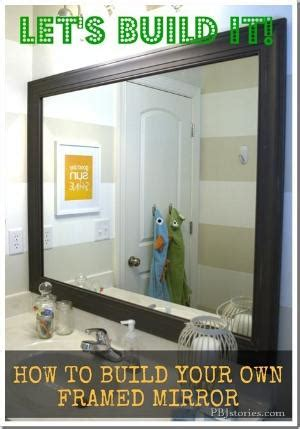 How To Frame A Bathroom Mirror Plastic by How To Frame Your Bathroom Mirror Plastic