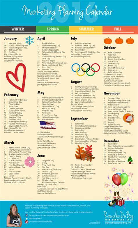 new year 2016 promotion ideas 2016 marketing planning calendar vandenberg web