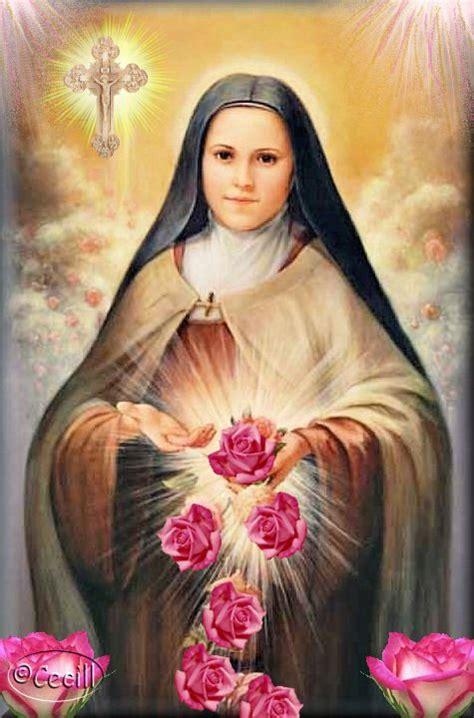 imagenes religiosas santa teresita pin de geraldine sturzenegger en lluvia de rosas