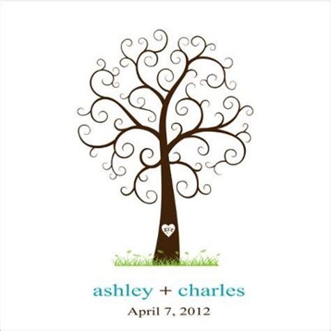 fingerprint tree guest book alternative weddings