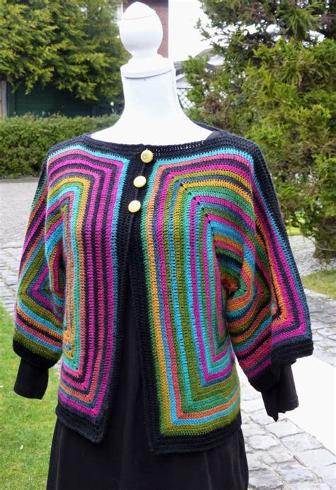 magic pattern cardigan hexagon ladies jacket crochet cardigan hexagon sweater