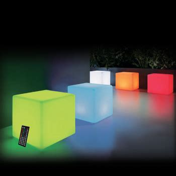 Light Cubes by Magic Led Cube Int Ext Lighting Products Quintezz