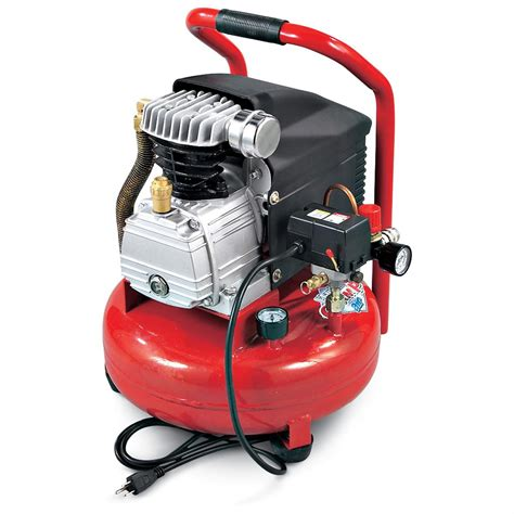 refurbished clarke 174 4 gallon pancake air compressor 127484 air tools at sportsman s guide