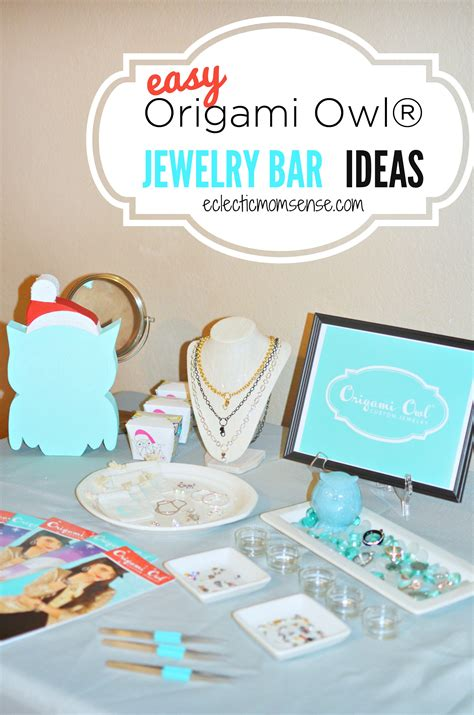 Origami Owl Jewelry Bar Setup - origami owl 174 jewelry bar ideas eclectic momsense