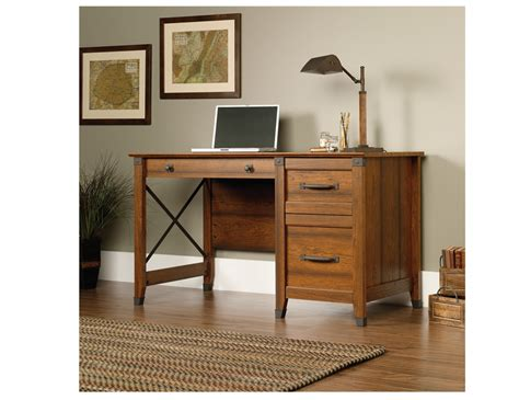 small office desk with drawers whitevan