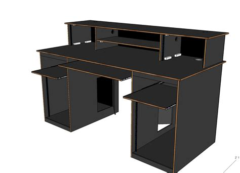 professional recording studio desk help with joinery and stucture support gearslutz pro