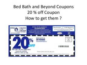 Bed Bath Beyond Printable Coupon Bed Bath And Beyond 20 Off Printable Coupons Online