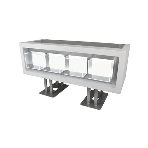 Standing Reception Desk Clary Illuminated Standing Reception Desk Veeco Salon Furniture Design