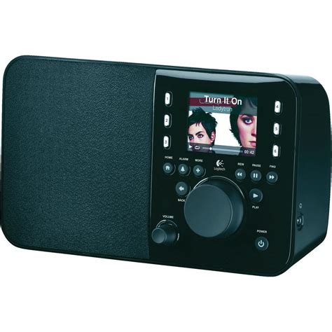 radio online logitech squeezebox internet radio black from conrad com