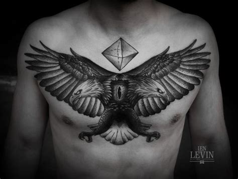 black eagle tattoo 100 eagle design ideas