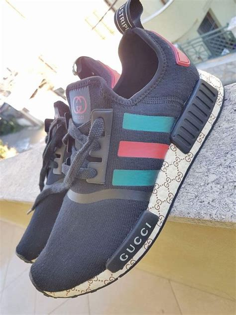gucci adidas nmd shoe custom by gucci catawiki