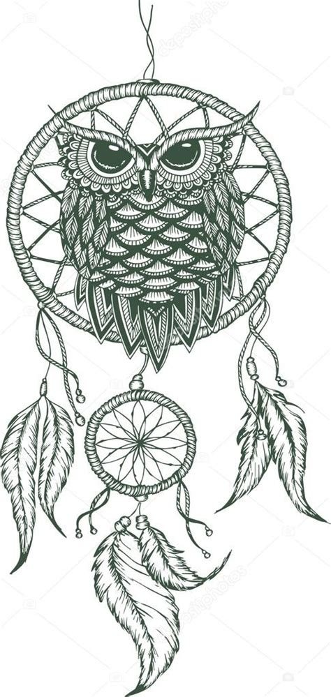 dream catcher outline pictures to pin on pinterest pinsdaddy