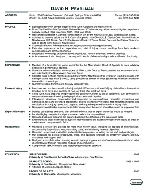 Cv Template Reed Simple Curriculum Vitae Format