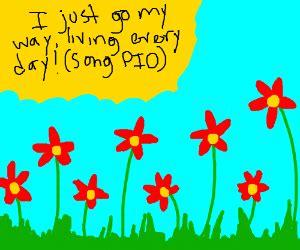 aha im so i m so happy aha happy go lucky me songpio drawception
