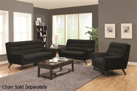 black fabric sofa and loveseat set a sofa