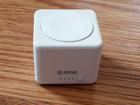 Power Bank Apple review zens apple power bank is pocket sized and ultra portable thanks to built in