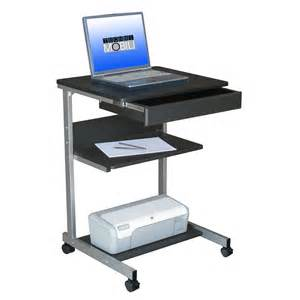 Laptop Rolling Desk Techni Mobili Rta B018 Rolling Laptop Desk With Storage Do Not Use At Hayneedle