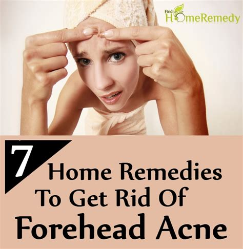 7 home remedies to get rid of forehead acne find home
