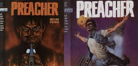 Preacher Comic Book Cover Photos New Cassidy Posters Recreate Preacher Comic Book Covers