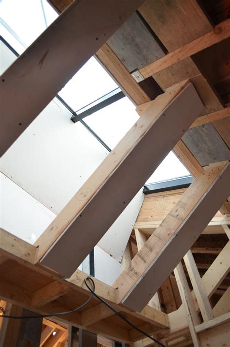 Wood Frame Ceiling by Study Dunbar House 171 Home Building In Vancouver