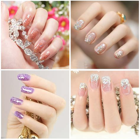 Wholesale Nail by Wholesale Nail Manicure Nail Extension Glitter Mix Acrylic
