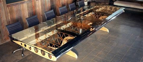 used aviator wing desk for sale making a memorable man cave