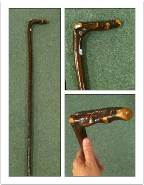 Handmade Walking - handmade walking stick