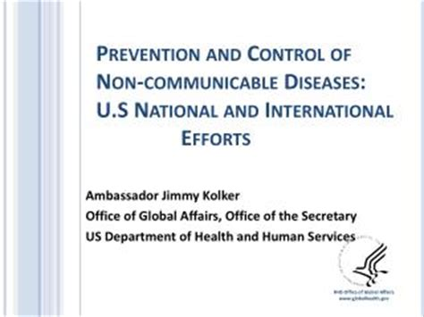 Office Of Human Affairs by Ppt Prevention And Of Non Communicable Diseases