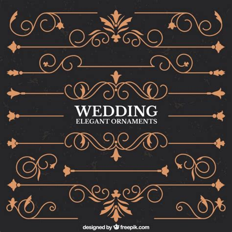 Wedding Border Vector by Wedding Borders Vector Free