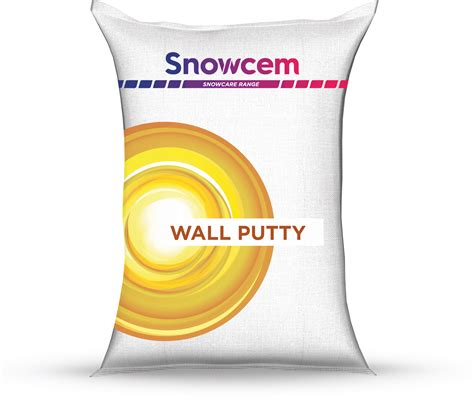 Wall Putty by Snowcare Range