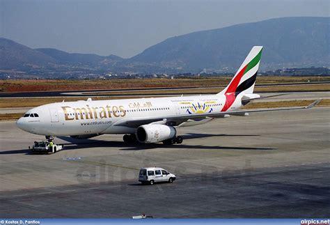 emirates a330 airpics net a6 eaj airbus a330 200 emirates large size