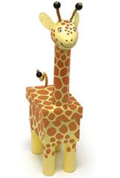 How To Make Paper Giraffe - make a giraffe storage box out of paper mache for