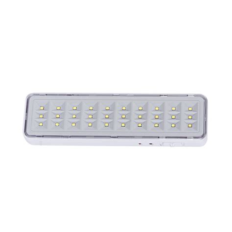 Lu Emergency Led Cmos v tac 16 leds recessed fixed emergency led exit light ip20 white light sku 8201 vt 522