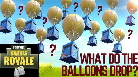 hot air balloons  fortnite drop legendary