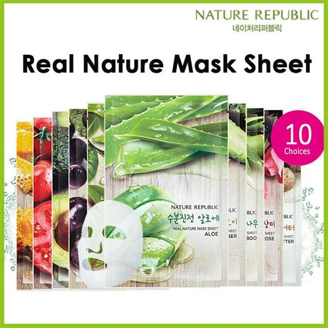 Nature Republic Real Nature Mask by Nature Republic Real Nature Mask Sh End 4 16 2018 12 15 Am