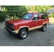 1988 Ford Bronco II 4x4 Only 77k Actual Miles 100%