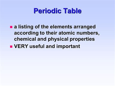 Elements In The Periodic Table Are Arranged According To by Introduction Some Basic Concepts Welcome To The World Of