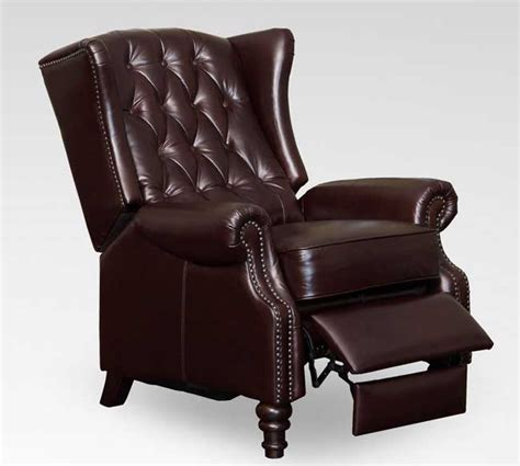 wingback recliner use of the wing back recliner for the good looks of your
