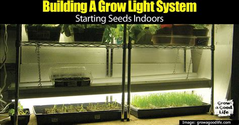 build  indoor grow lights system