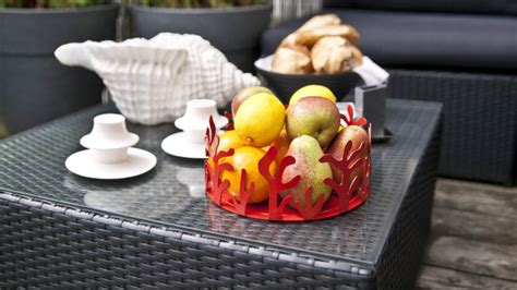 tavoli da giardino in rattan sintetico mobili da giardino in rattan intrecci d autore westwing
