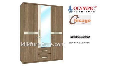 Lemari Olympic 2 Pintu wrt0110892 lemari 3 pintu chicago olympic new