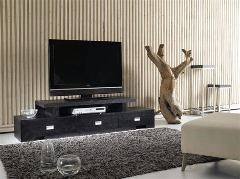 china home furniture black oak modern design tv stands 379