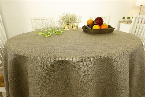 Runde Tischdecken Landhausstil by Landhaus Tischdecke Grob Gewebt 216 80 Cm 160 Cm Rund